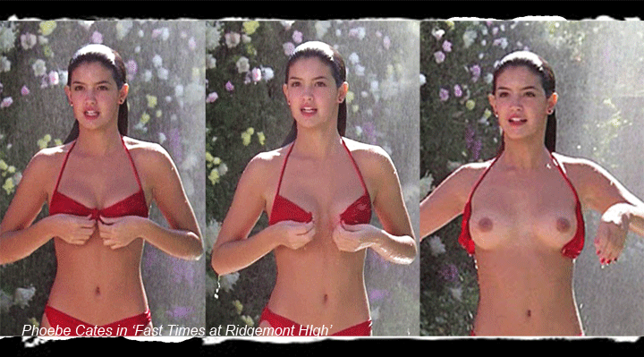 Phoebe cates breasts