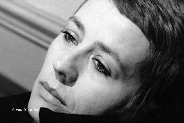 Legendary French actress Annie Girardot