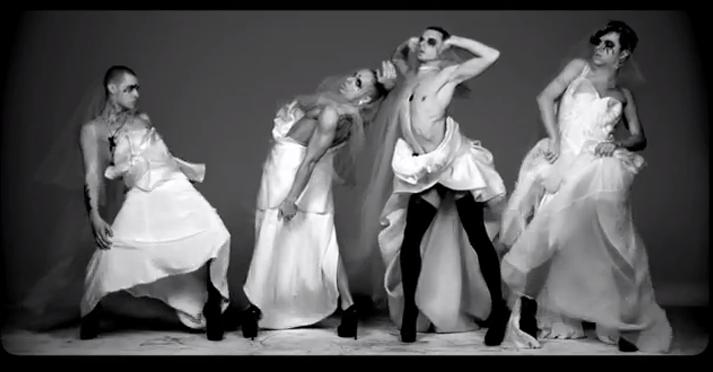 All-male dance group Kazaky