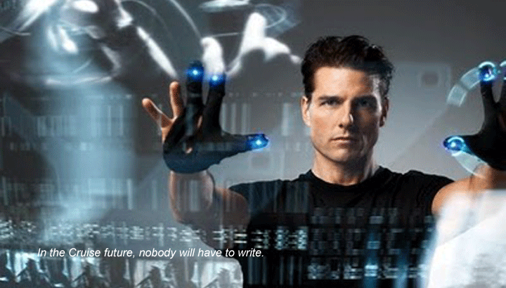 Tom Cruise Minority Report