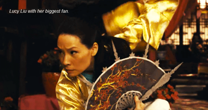 Lucy Liu Man With the Iron Fist
