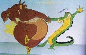 Hippo Crocodile Dancing Fantasia