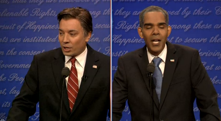 Jimmy Fallon Presidential Debate Spoof