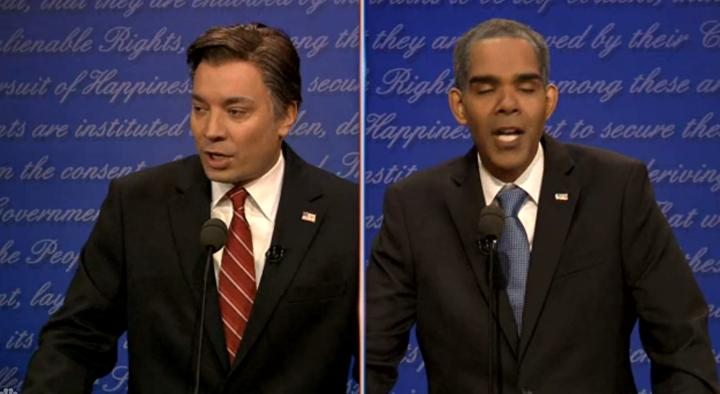 Jimmy Fallon Presidential Debate Spoof