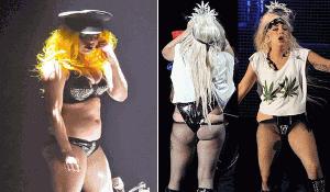 Lady Gaga fat