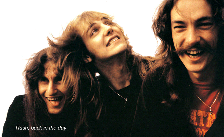 Rush rock band