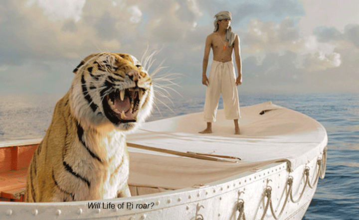 Life of Pi Tiger