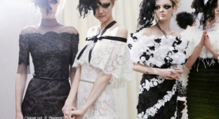 Chanel Couture Spring 2013