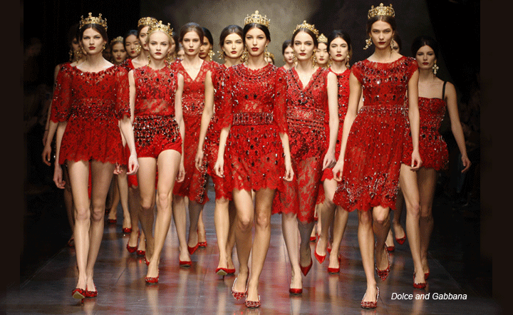 Dolce and Gabbana FW 2013