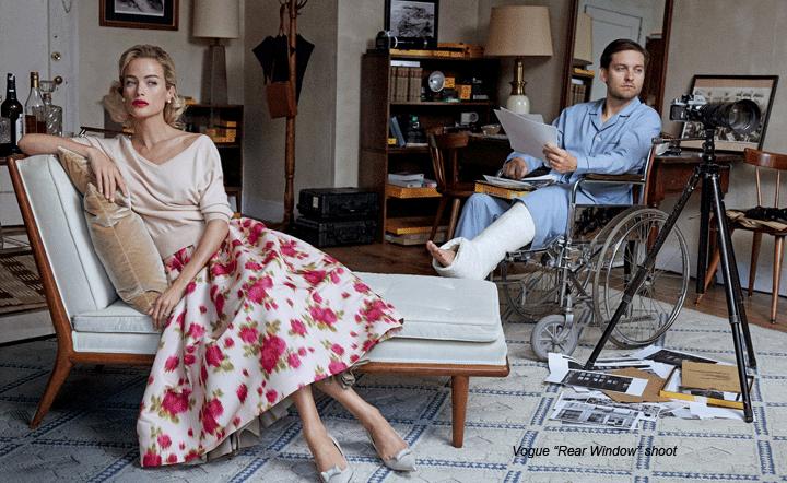 Window Dressing Vogue Magazine