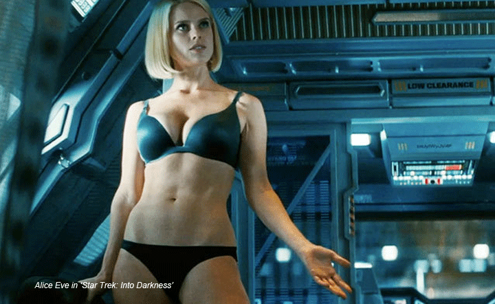 Alice Eve Bra