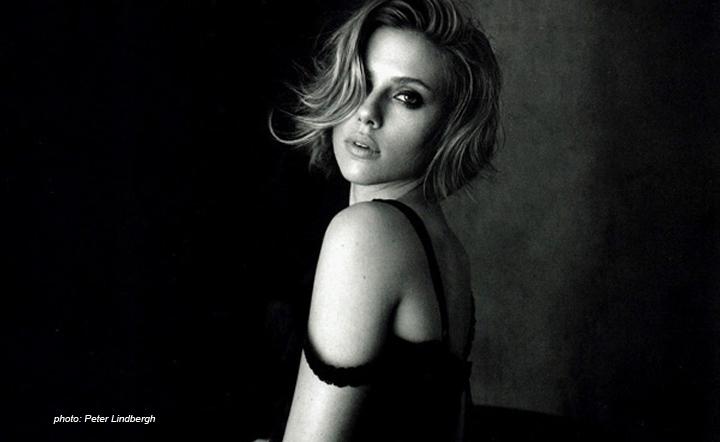 Scarlett Johansson Peter Lindbergh