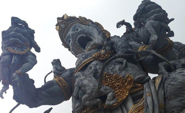 The gods of Bali