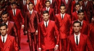 Dolce and Gabbana Men 2015