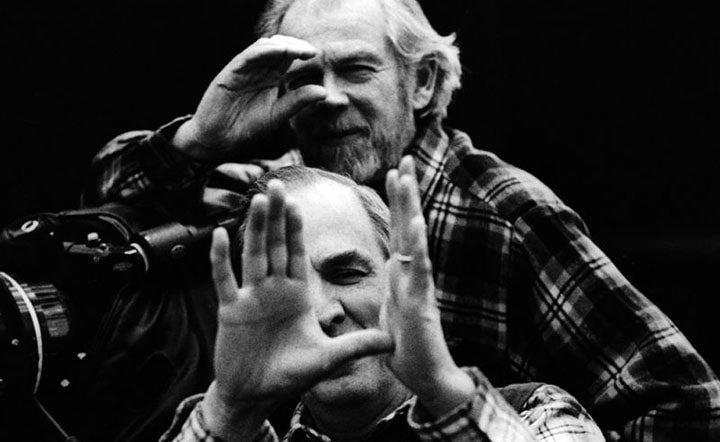 Ingmar Bergman and Sven Nykvist