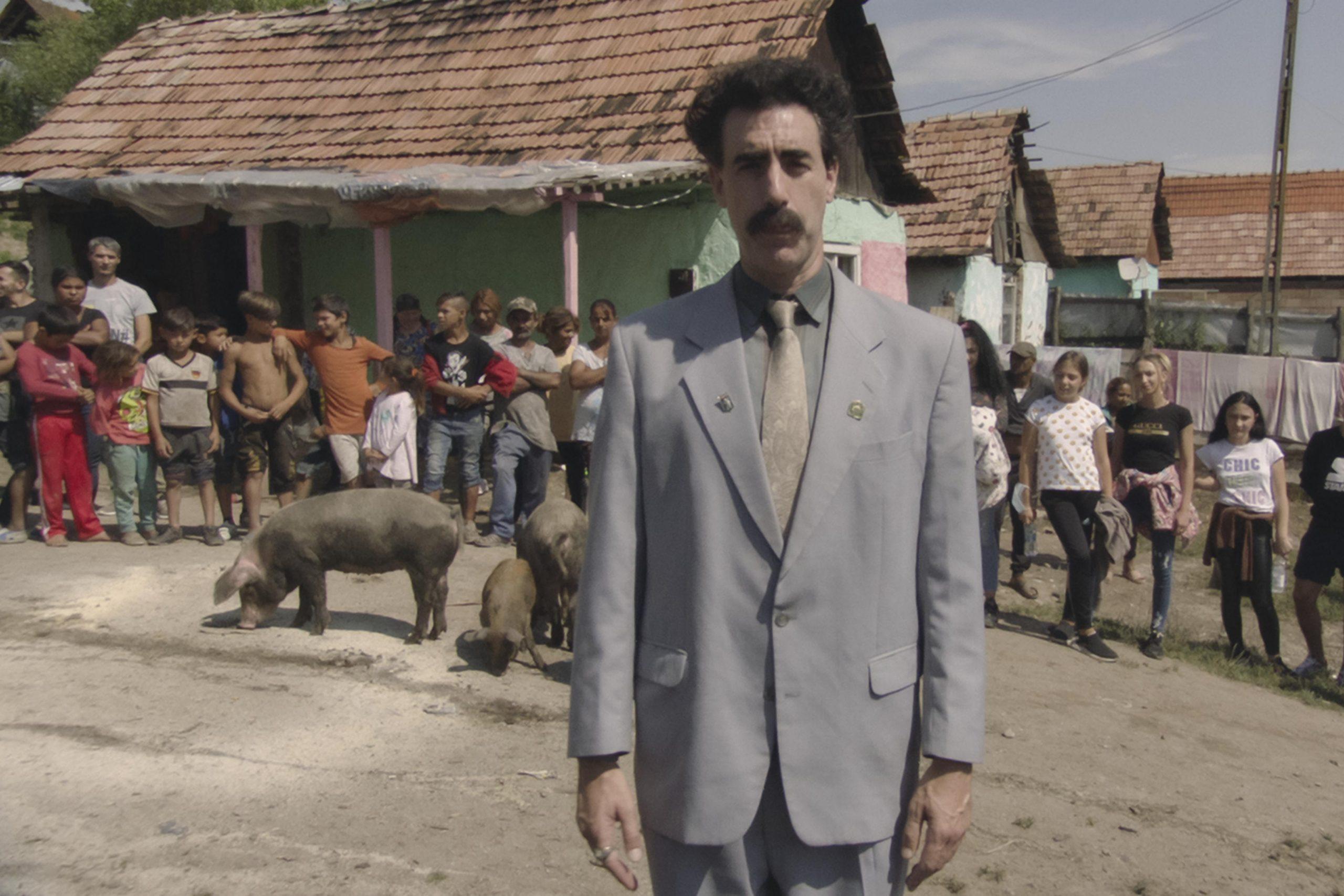 Sacha Baron Cohen Borat Kazakhstan