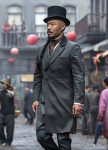 Hoon Lee as Chow in HBOMax Warrior